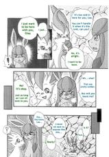 Leafeon x Glaceon (English)